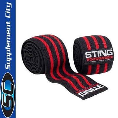 Sting Elasticised Knee Wraps 80inch