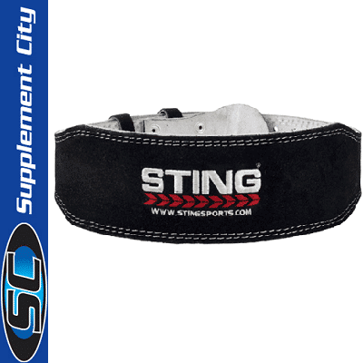 Sting Eco Leather Liftng Belt 6inch