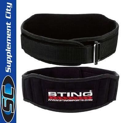 Sting Neo Velcro Weight Belt 4inch