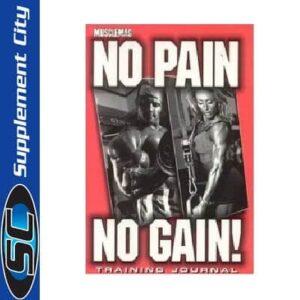 No Pain No Gain Training Journal