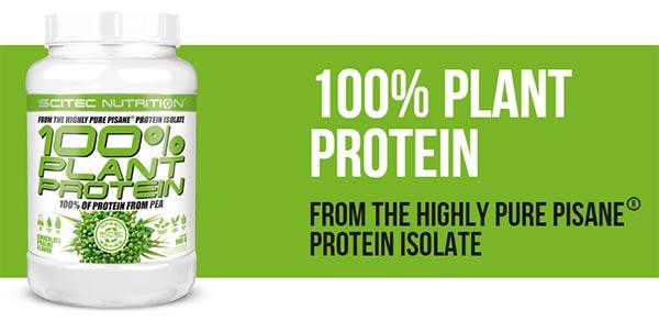 Scitec 100% Plant Protein | Chocolate | Supplement City