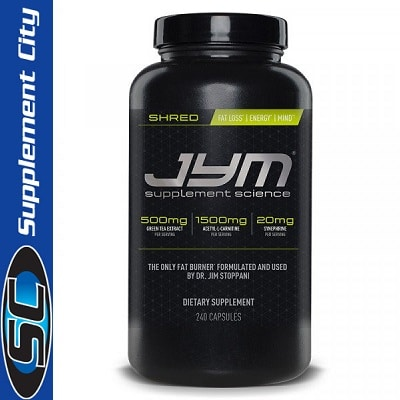 JYM Supplement Science Shred