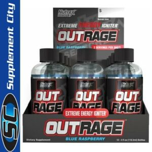 Nutrex Outrage Extreme Energy Shots