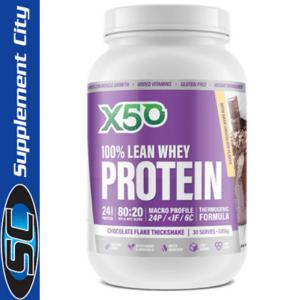 X50 100% Lean Whey Protein