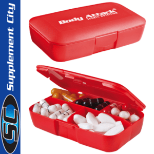 Body Attack Pill Box