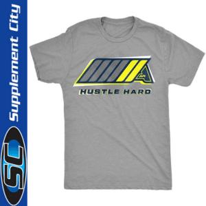 API Sportswear Hustle Hard Grey T-Shirt