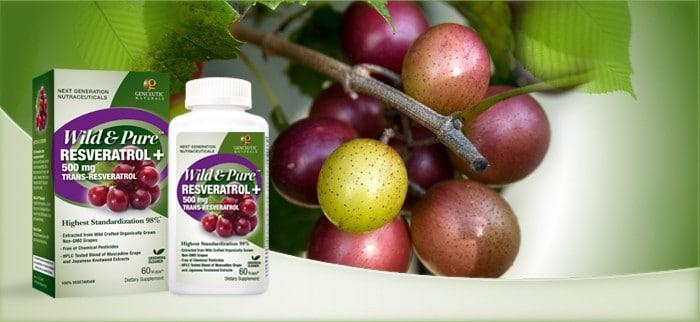 Genceutic Naturals Wild & Pure Resveratrol
