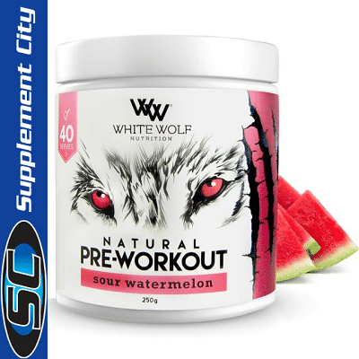 White Wolf Natural Pre-Workout