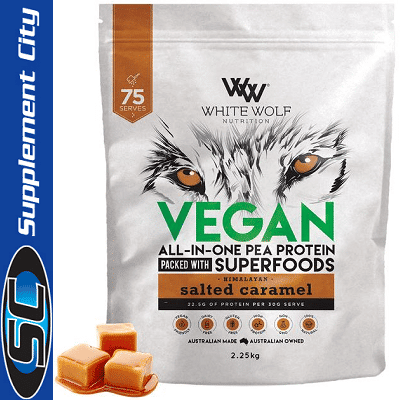 White Wolf Vegan All In One Pea Protein