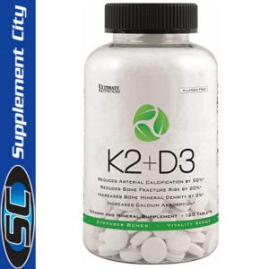 Ultimate Nutrition K2 + D3