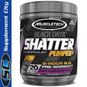 Muscletech Shatter Pumped8 Black Onyx