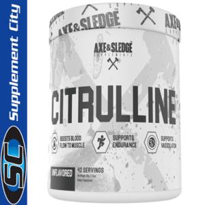 Axe & Sledge Citrulline