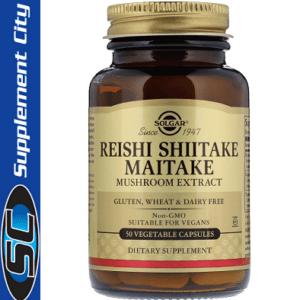 Solgar Reishi Shiitake Maitake Mushroom Extract