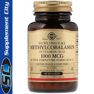Solgar Sublingual Methylcobalamin
