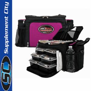 Isolator Fitness Fushsia 6 Meal Isobag
