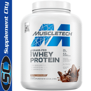 Muscletech Grass-Fed 100% Whey Protein