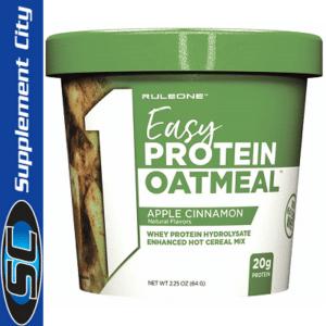 Rule 1 Easy Protein Apple Cinnamon Oatmeal