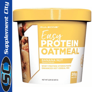 Rule 1 Easy Protein Banana Nut Oatmeal