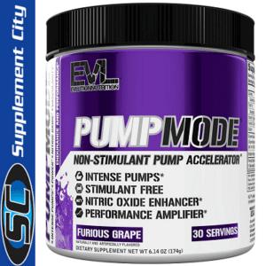 EVL Nutrition Pump Mode