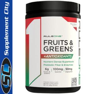 Rule 1 Fruit & Greens + Antioxidants